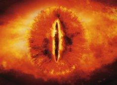 """Ochiul lui Sauron, din filmul """"Stăpânul Inelelor"""""""