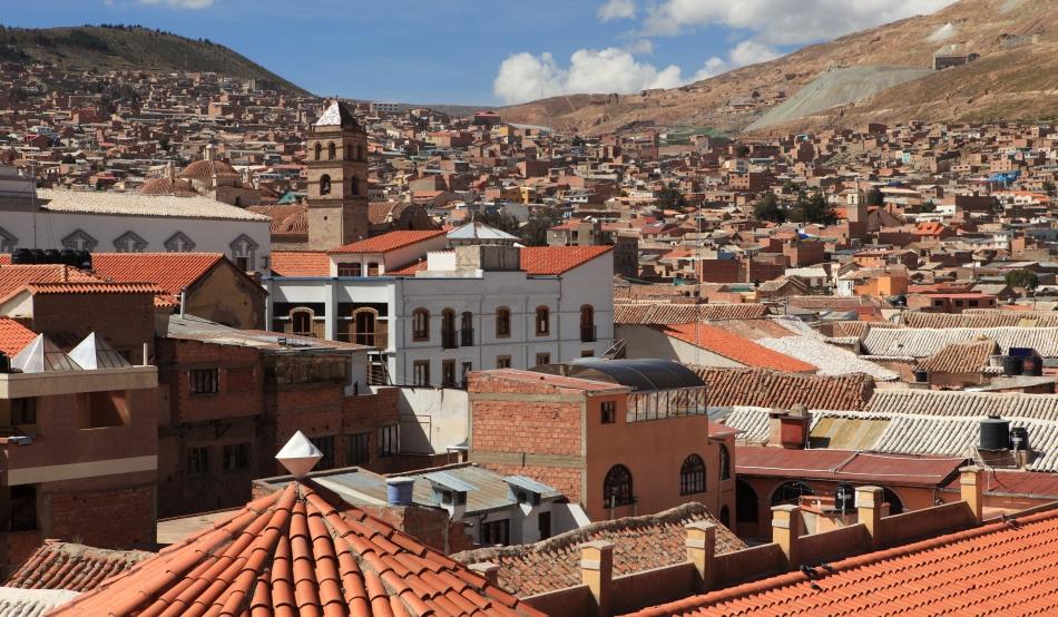 Oraşul bolivian Potosi a fost plasat pe lista patrimoniului mondial în pericol.