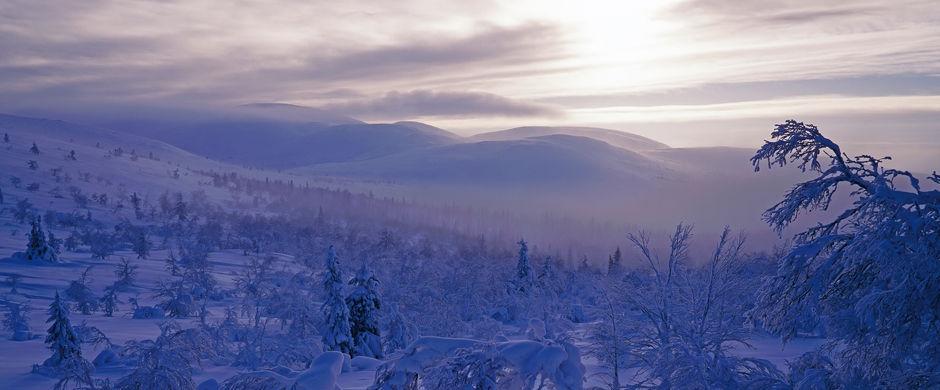 Finlanda - Halti - 1324 metri