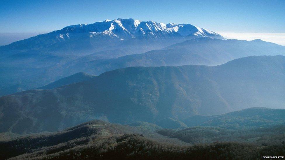 Grecia - Muntele Olimp - 2919 metri