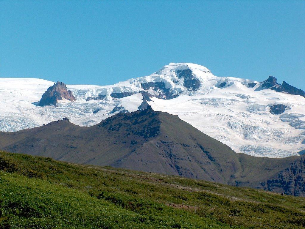 Islanda - Hvannadalshnúkur - 2110 metri