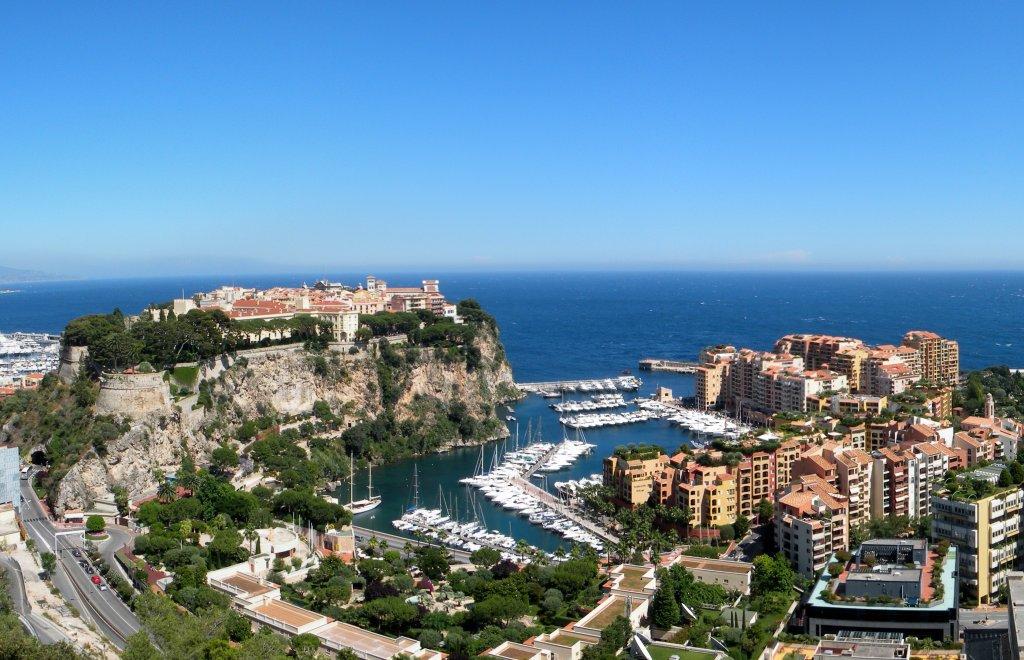 Monaco - Chemin des Révoires - 163 metri