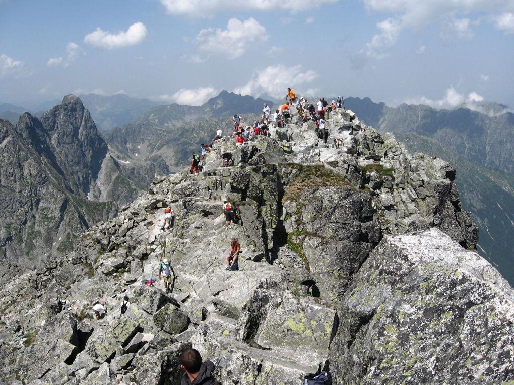 Polonia - Muntele Rysy - 2499 metri