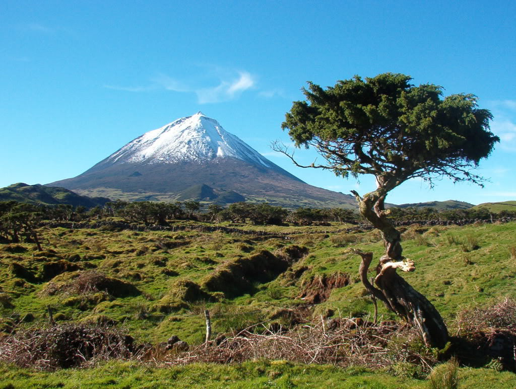 Portugalia - Muntele Pico - 2351 metri