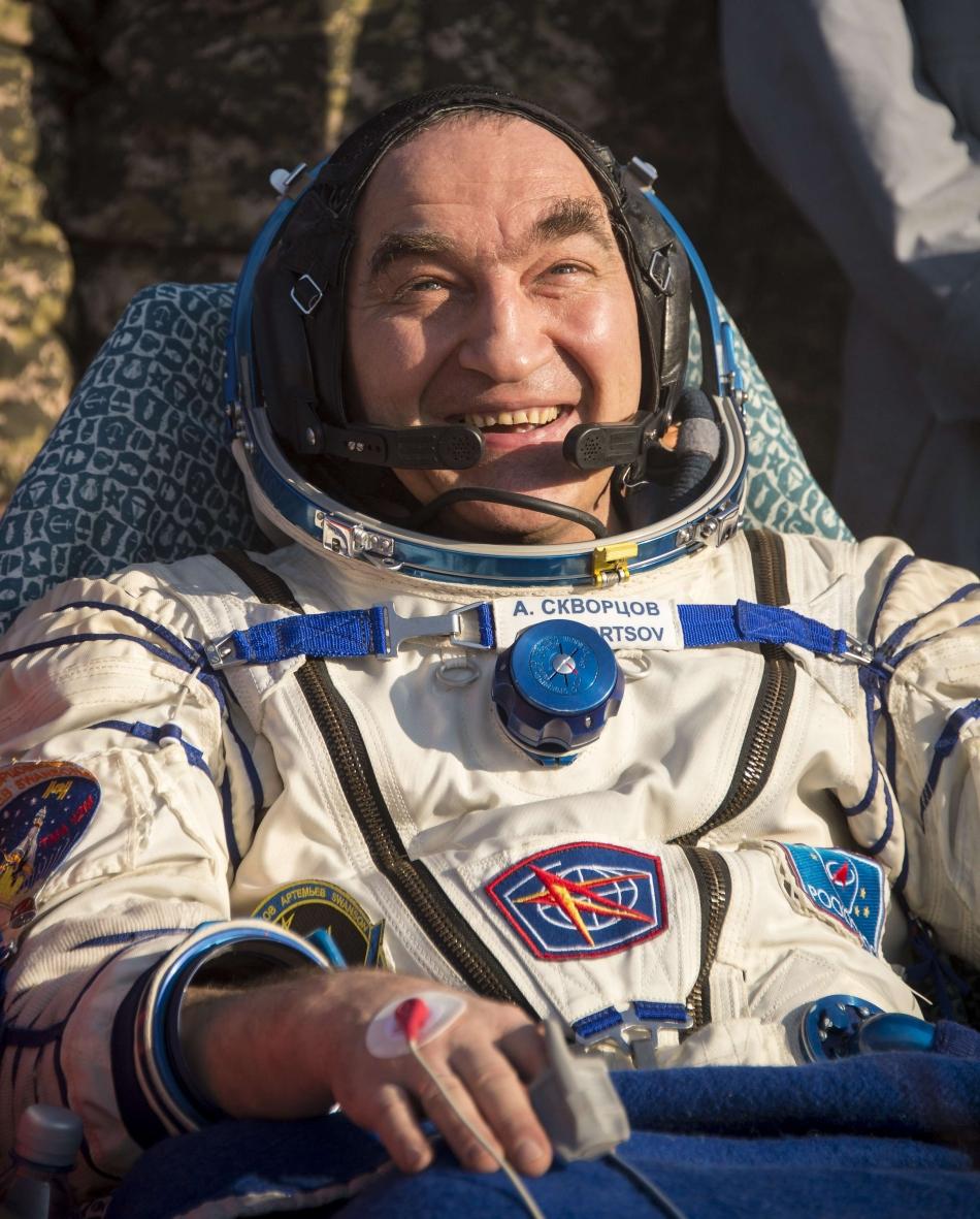 Cosmonautul Alexandr Skvorţov