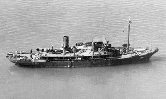 Cum arăta corabia Dickenson