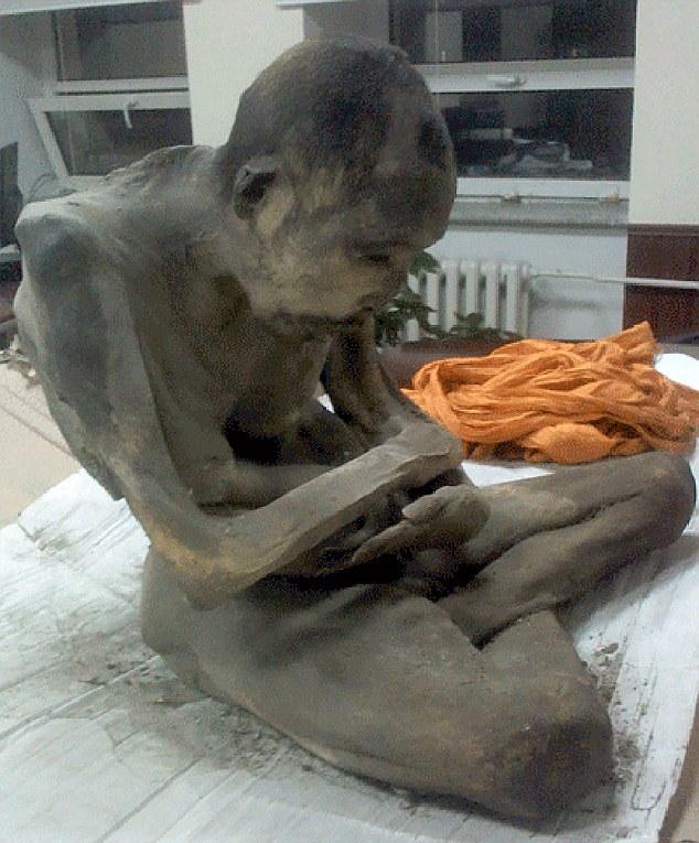 Mumia descoperită în Mongolia