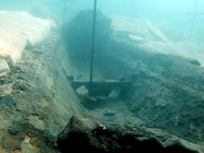 Epava găsită lângă coasta Siciliei