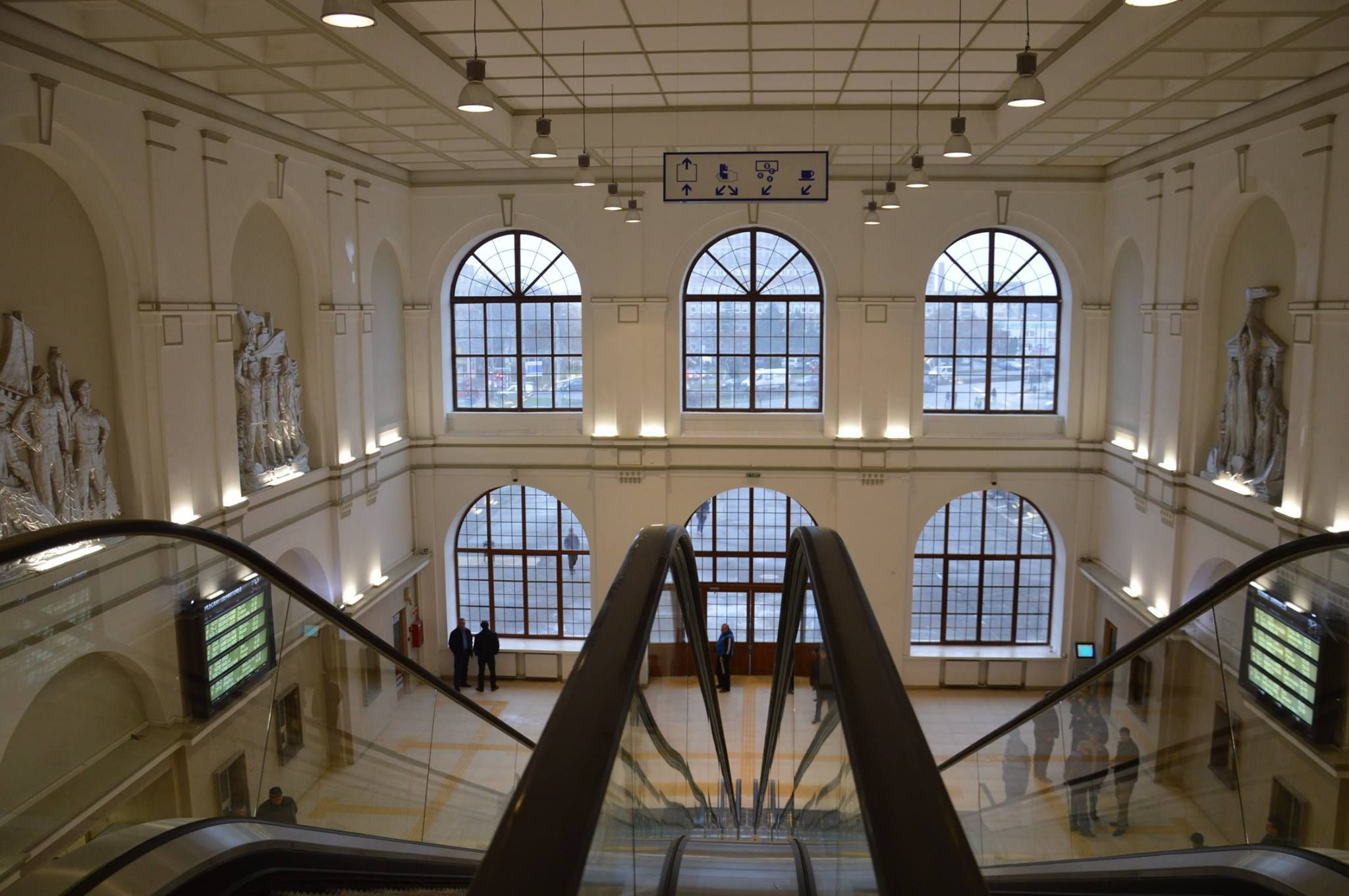 Gara din Arad, cae mai modernă din România / Sursa foto: www.skyscrapercity.com / forum.peundemerg.ro