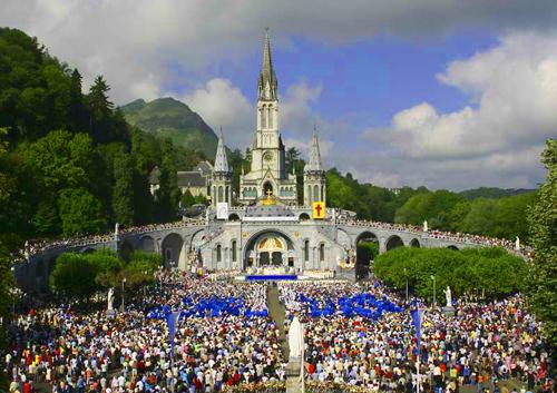 Lourdes, Franta