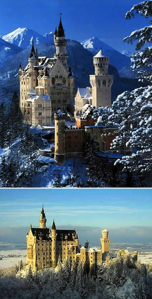Cele mai fascinante castele ale lumii