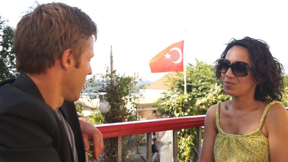 Interviu în Istanbul