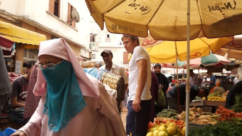 Popas în Casablanca