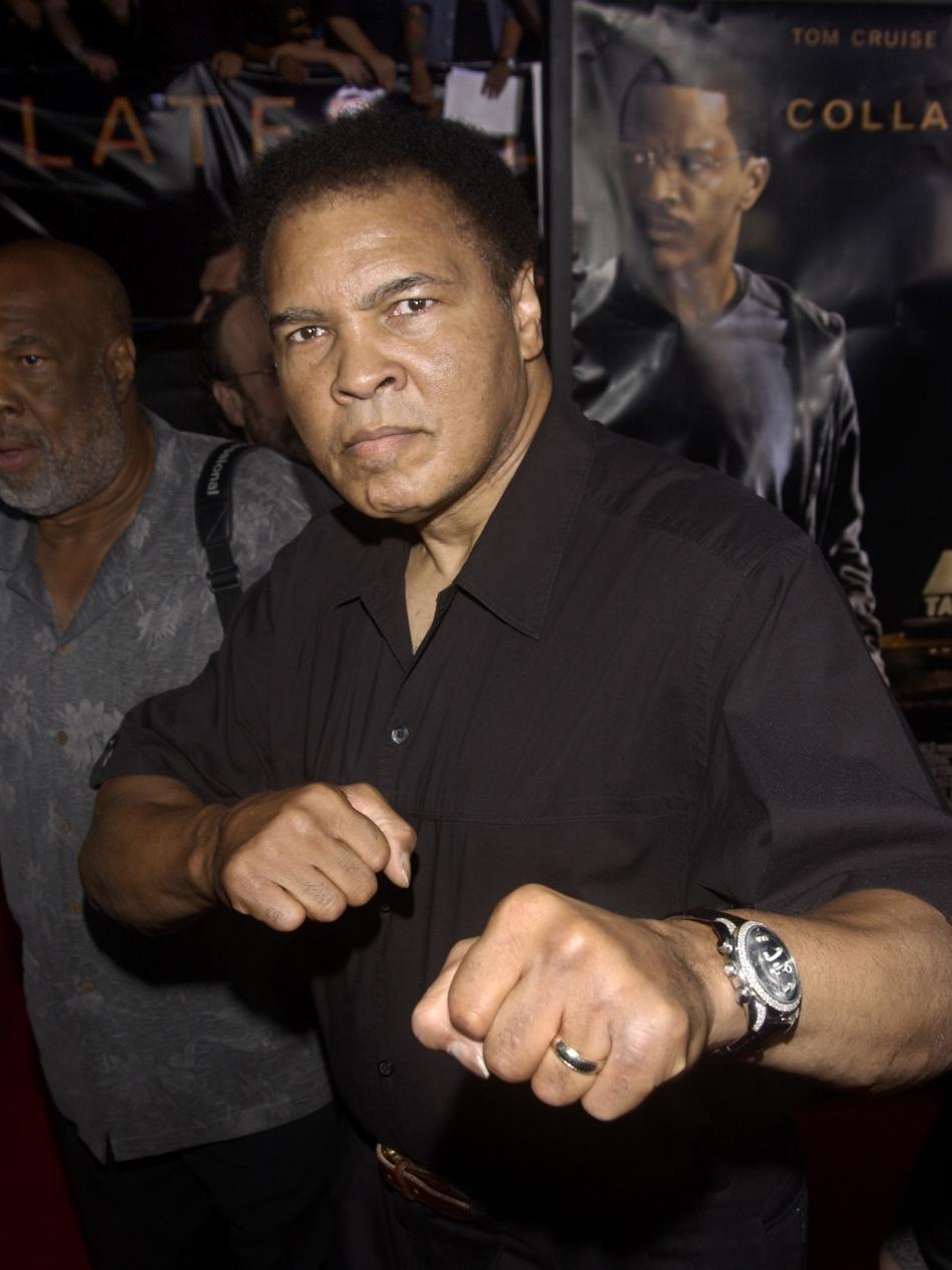 Muhammad Ali după retragerea din box