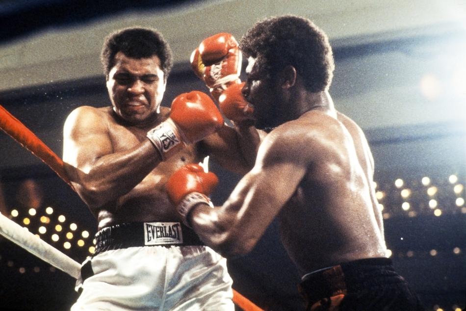 Ali într-unul dintre meciurile sale legendare