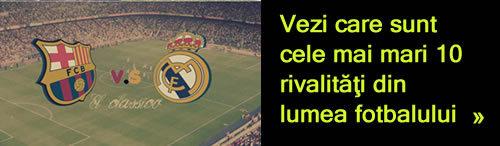 Cele mai mari 10 rivalitati din lumea fotbalului