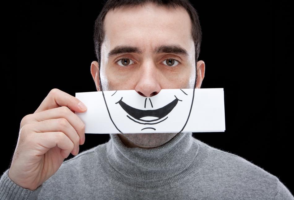 Zâmbetul profesional - o potenţială cauză a bolilor