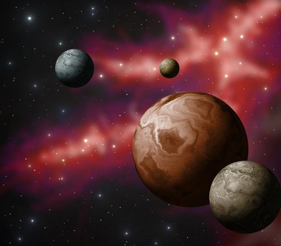 Planetele pitice sunt corpuri de formă aproximativ sferică, o particularitate legată de gravitaţie şi de masa lor.