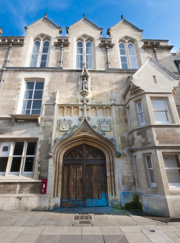 Labratorul Cavendish de la Cambridge, unde şia-u desfăşurat Crick şi Watson cercetările care au dus la descifrarea structurii ADN.