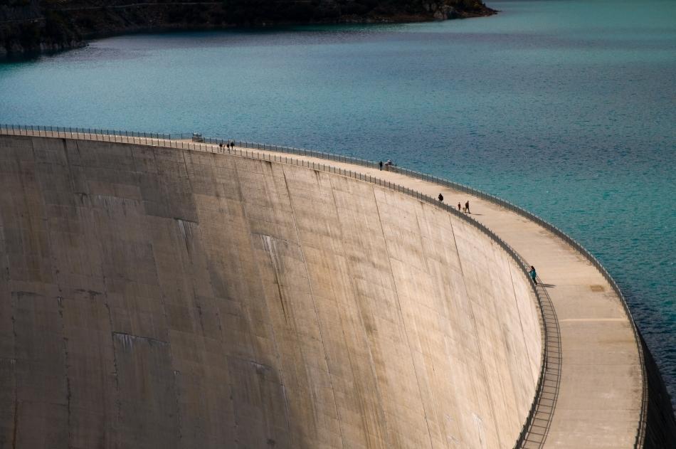 Baraj pe fluviul Yangtze din China