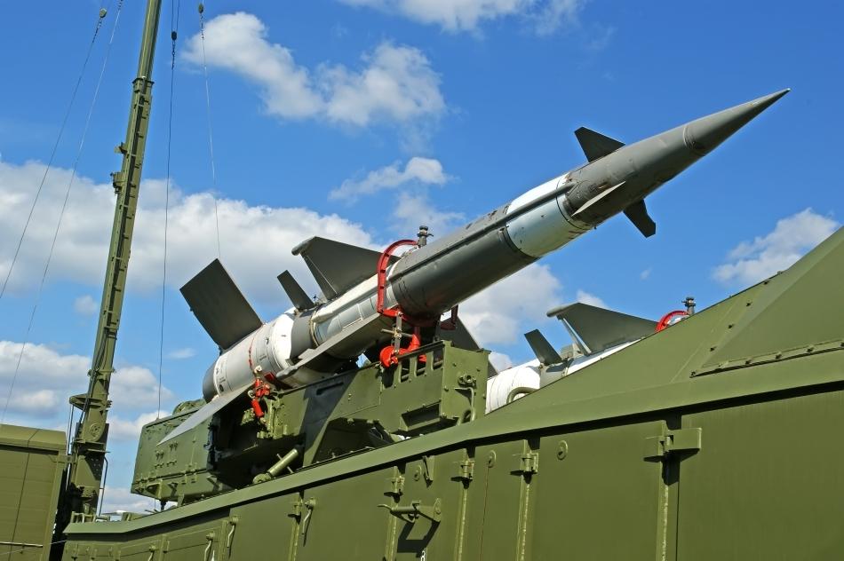 Rachetă rusească gata de acţiune