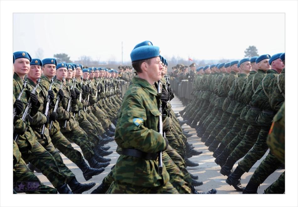 Soldaţi din trupele speciale VDV din Rusia
