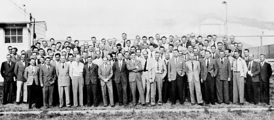 un grup de 104 experţi germani în tehnologia rachetelor la baza din Fort Bliss, Texas