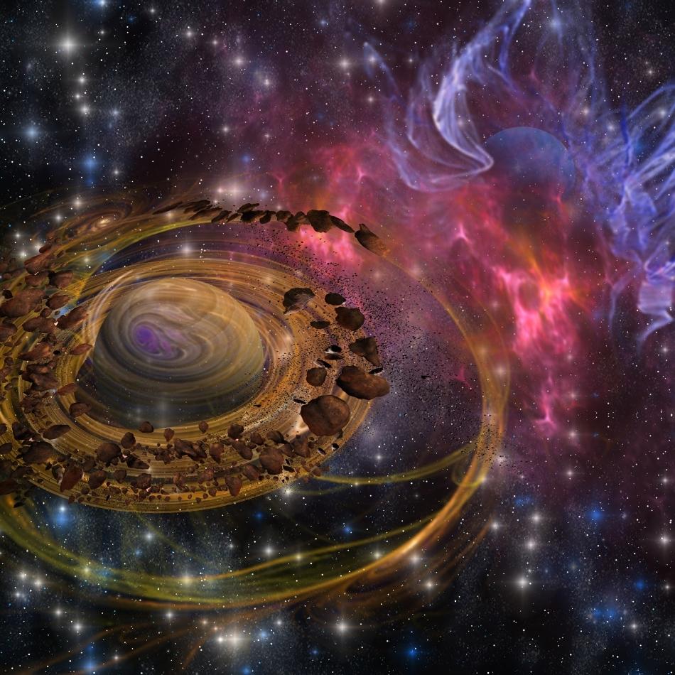 Fragmente de materie solidă, bogate în apă, provenite din centura de asteroizi, ar fi putut lua parte încă de la început la formarea planetei noastre.