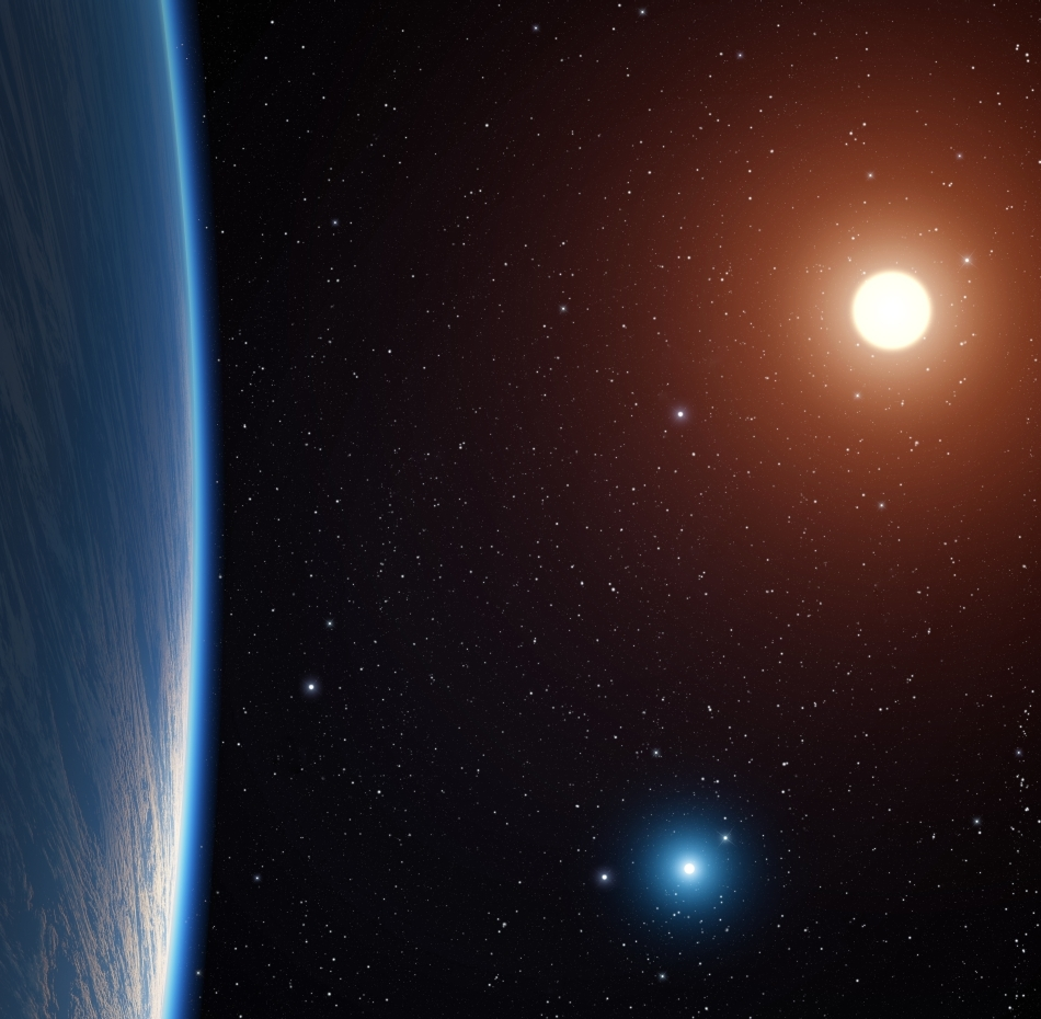Lunile exoplanetelor din sistemele cu doi sori prezintă şanse mai mari de a avea condiţii favorabile vieţii.