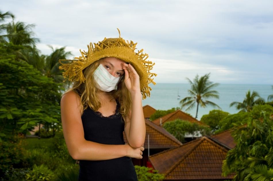 """Dacă suferiţi de alergii de felul """"febrei fânului"""", ţineţi seama de sezonului polenului în zona în care călătoriţi."""