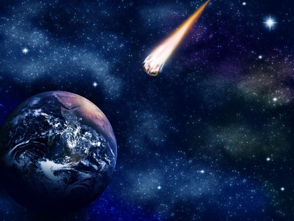 Impactul unor comete sau asteroizi cu Pământul poate arunca în aer cantităţi enorme de materie solidă, dintre care unele ar putea transporta viaţa pe alte corpuri cereşti, sugerează ipoteza litopanspermiei.