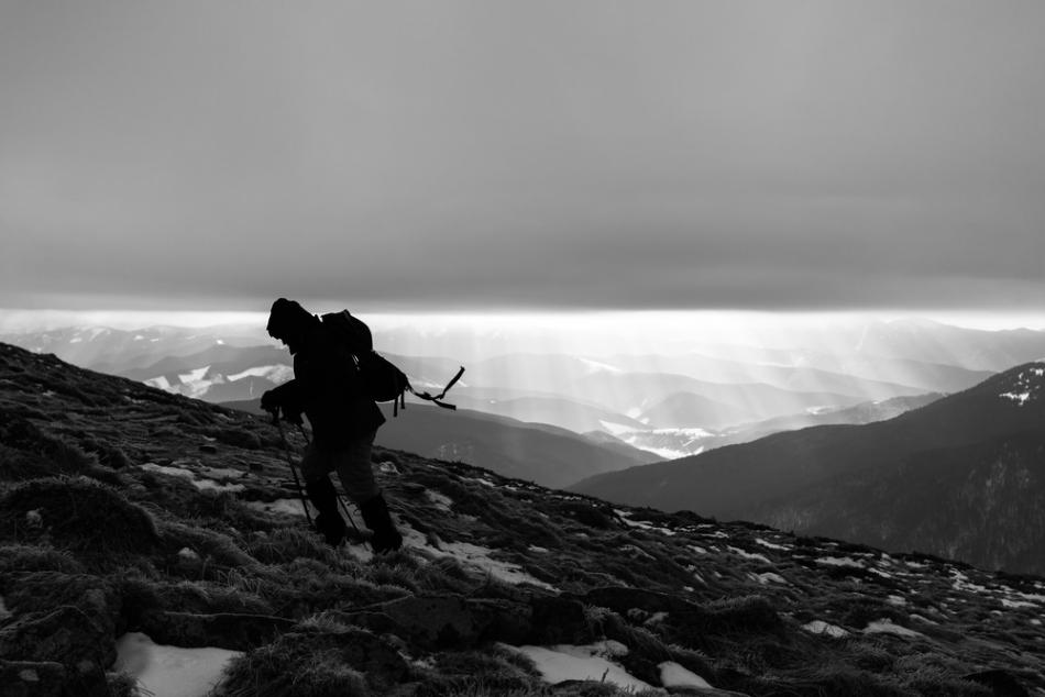 """Sindromul """"Al Treilea Om"""" este raportat deseori de alpiniştii confruntaţi cu situaţii dificile în cursul ascensiunilor."""