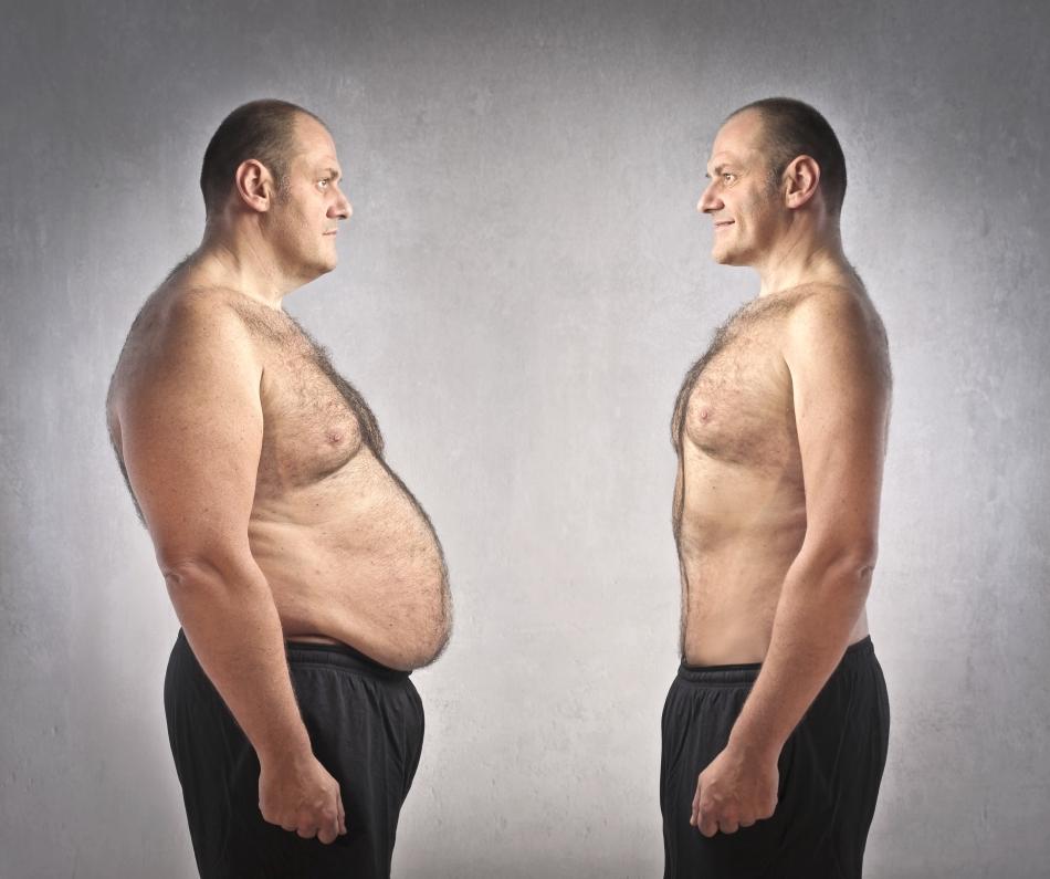 cum pierde în greutate un bărbat