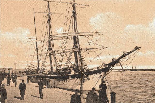 Portul Constanţa, imagini de altădată