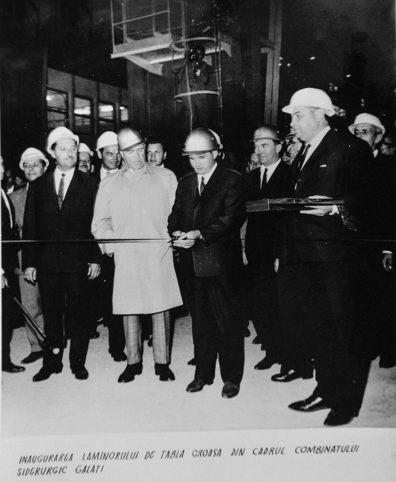 Vizita lui Nicolae Ceauşescu în regiunea Galaţi, 14 - 15 septembrie 1966