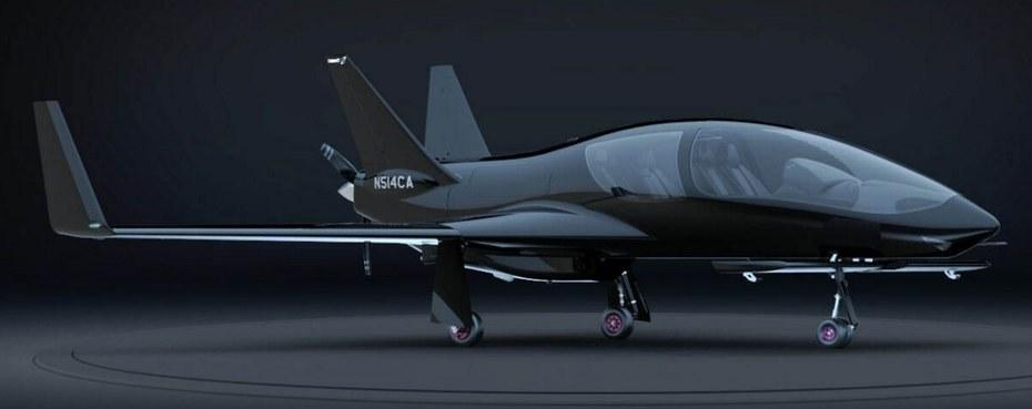 Valkyrie-X - cel mai nou avion de lux