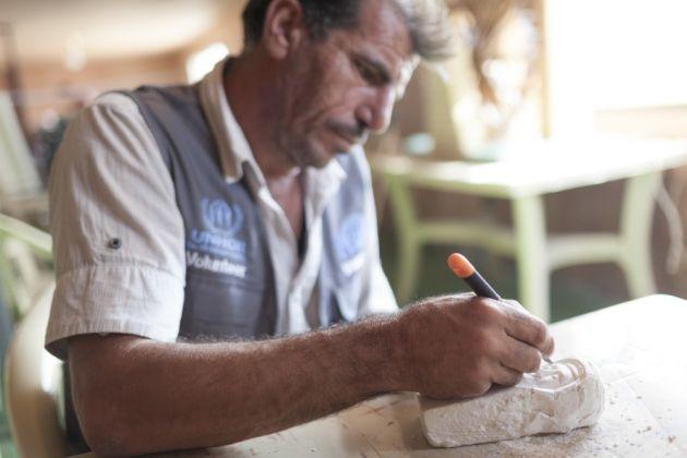 Modul inedit prin care refugiaţii sirieni încearcă să păstreze vie memoria culturală a poporului lor - FOTO