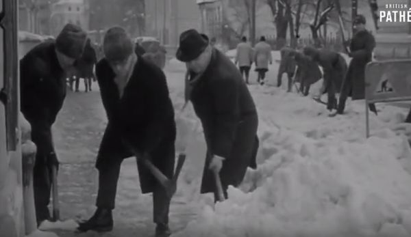 Iarna GREA din 1969, din Bucureşti