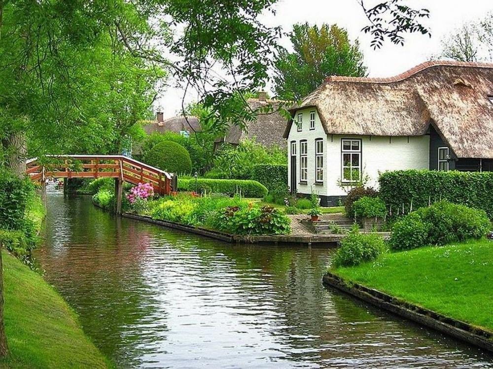 Giethoorn, ''Mica Veneţie'' din Olanda