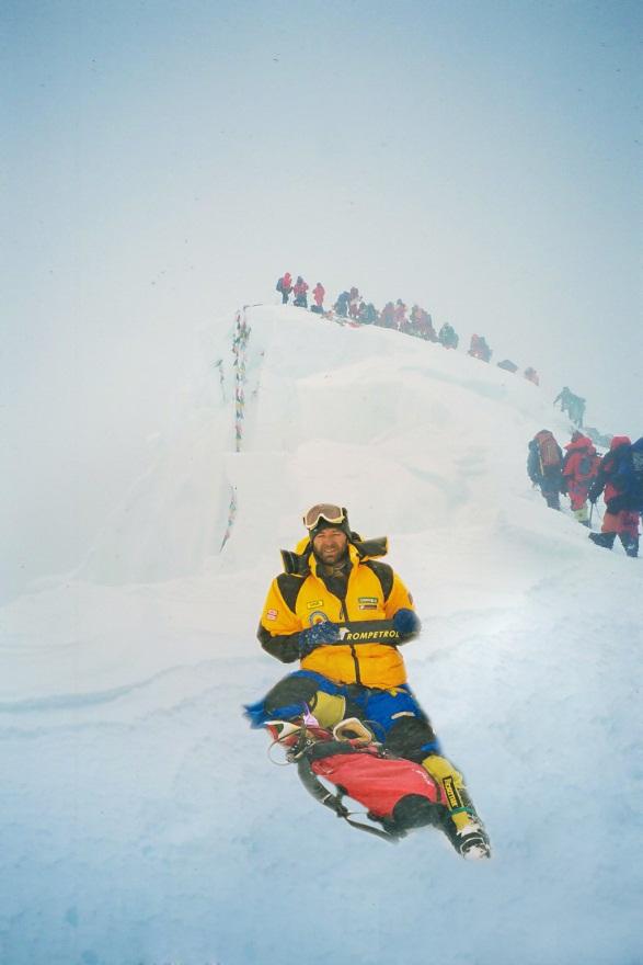 Marius Gane, alpinistul care face excelenţă de peste 30 de ani.