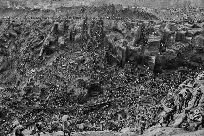 Minele de aur din Serra Pelada.
