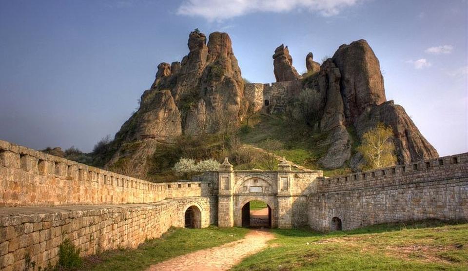 Cetatea Belogradchik din Bulgaria. FOTO