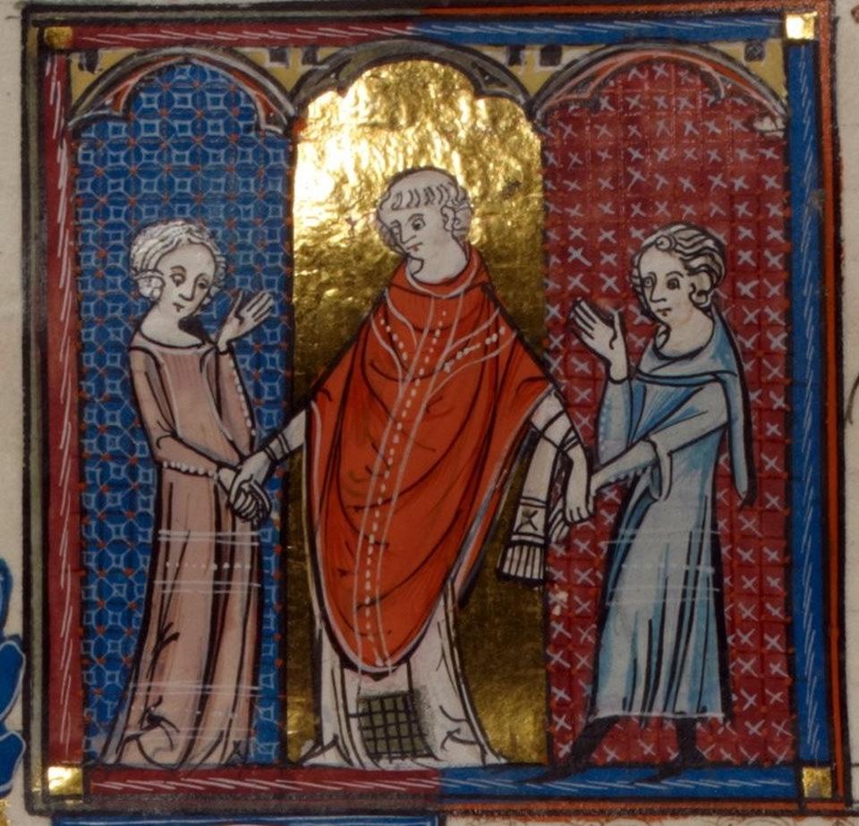 Cum au văzut DRAGOSTEA artiştii din Evul Mediu.