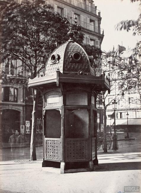 Toaletele publice din Paris în secolul al XIX-lea