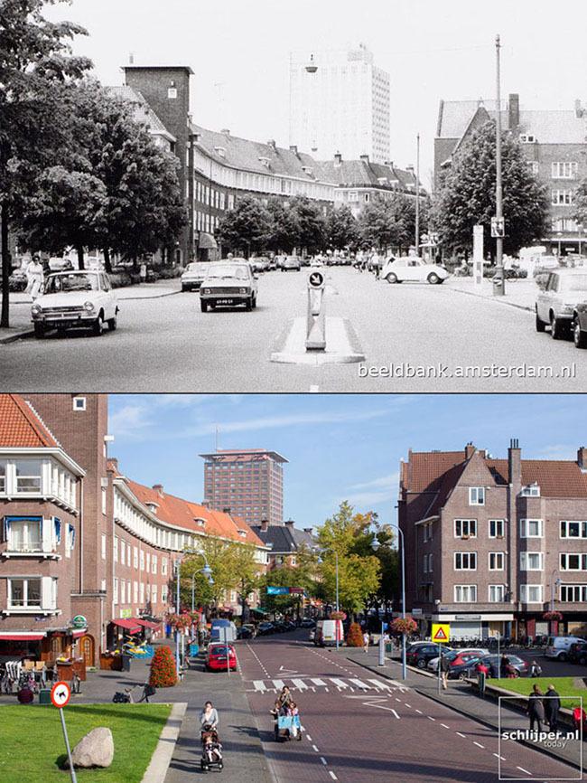 Istoria transformării oraşului Amsterdam