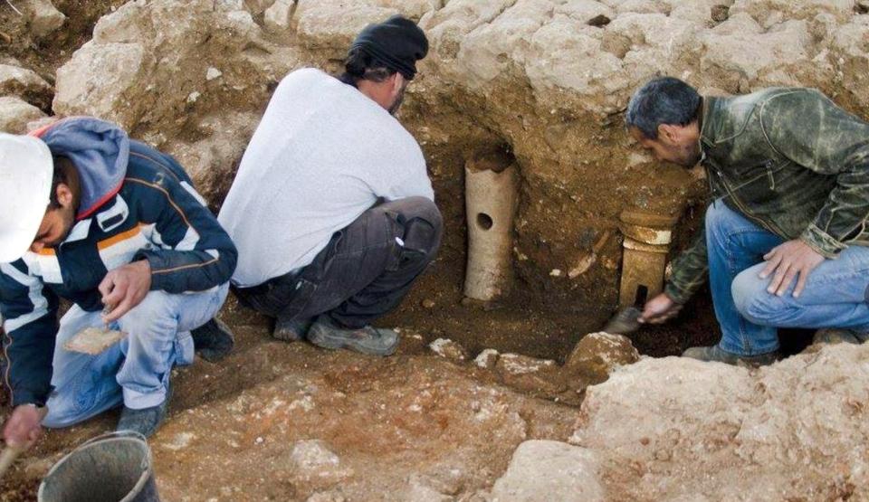 Descoperirile de sub orfelinatul Schneller al Ierusalimului.