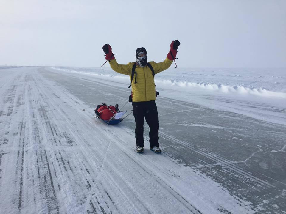 Tibi Uşeriu a câştigat maratonul de la Cercul Polar