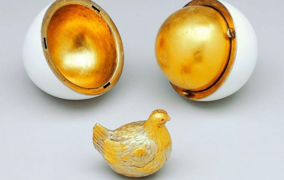 Fabuloasele ouă de Paşte ale Familiei Imperiale Ruse