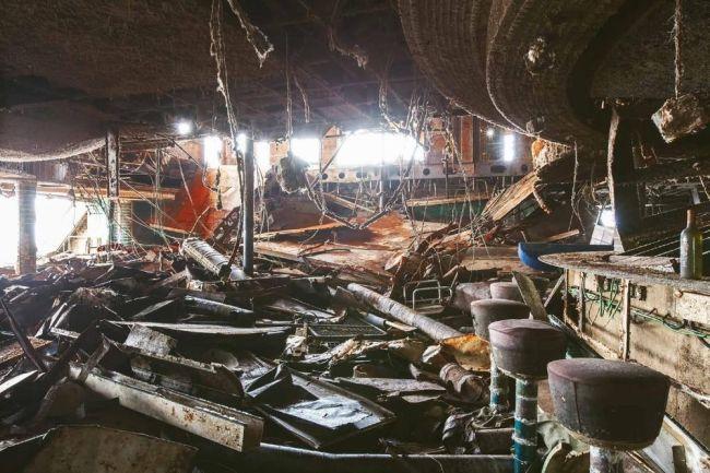 Fotografii şocante cu interiorul vasului Costa Concordia