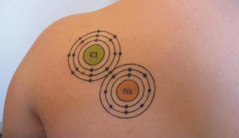 Tatuaje care demonstrează dragostea faţă de ştiinţă